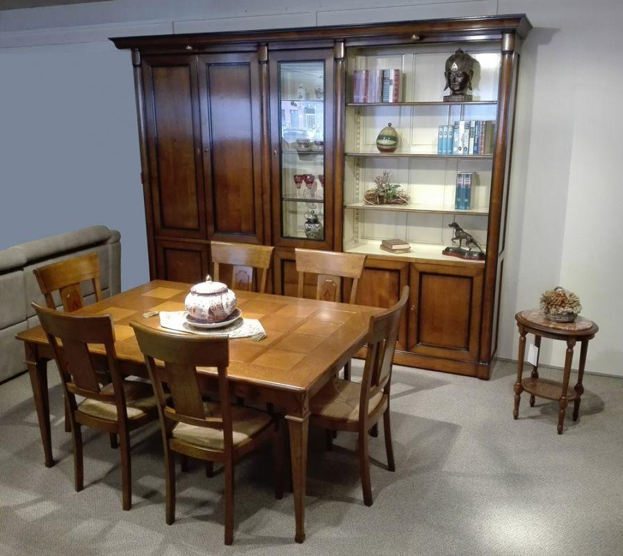 salle manger en merisier massif fabrication portugaise. Black Bedroom Furniture Sets. Home Design Ideas